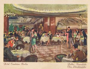 Ballroom or dance hall in the Hotel Excelsior