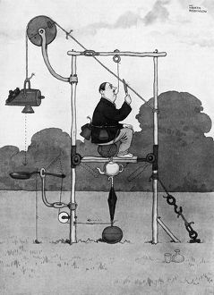 Bound to Draw by William Heath Robinson