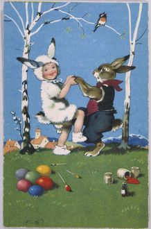 BUNNY AND CHILD