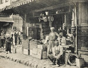 Bursa - Turkey - Turkish merchants