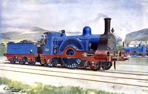 Caledonian Railway locomotive number 83
