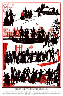 Christmas Day 100 years ago by H. L. Oakley