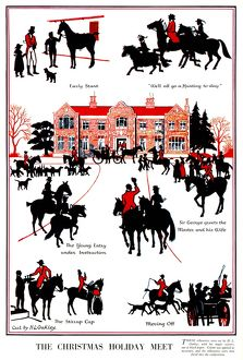 The Christmas Holiday Meet by H. L. Oakley