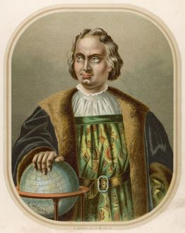 Christopher Columbus, Italian navigator and explorer