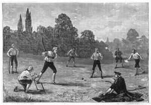 CRICKET IN THE 1770S