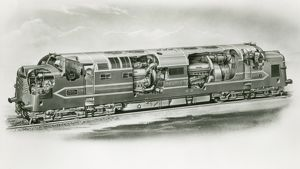 Deltic DP1 locomotive