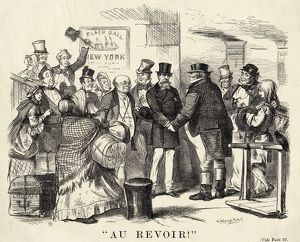 DICKENS CARTOON 1867
