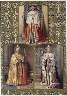 Edward VIII in his Coronation robes