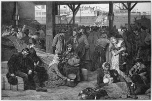 EMIGRANTS AT LE HAVRE