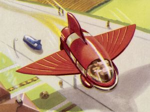 FLYING AUTOMOBILE