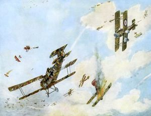 FORMATION FIGHTING WWI
