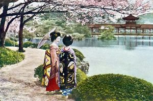 JAPAN/KYOTO GEISHAS 1935
