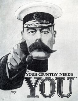 KITCHENER POSTER C.1915