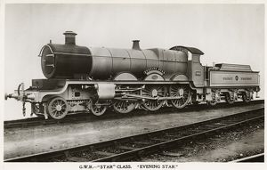 Locomotive no 4002 Evening Star 4-6-0
