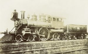 Locomotive no 5000 Lovett Eames 4-2-2
