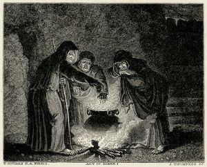 MACBETH/WITCHES/CAULDRON
