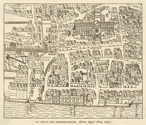 LONDON/MAP/1550/AGAS