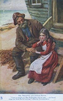 Mr Peggotty and Little Emily - David Copperfield, Dickens