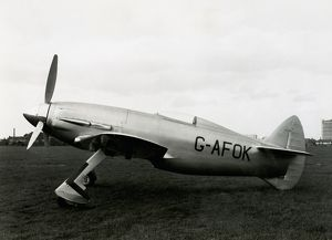 Napier Heston Racer G-AFOK with Sabre I