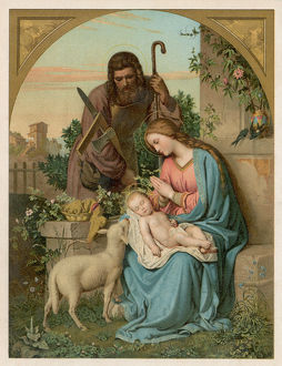 NATIVITY/WITH LAMB