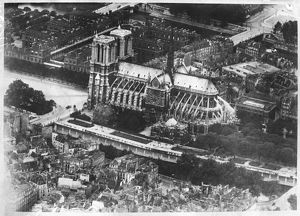 NOTRE DAME FROM THE AIR