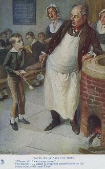 Oliver Twist asks for more - Charles Dickens