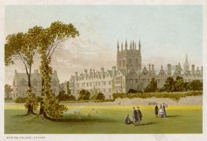 OXFORD/MERTON COLLEGE