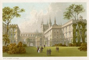 OXFORD/NEW COLLEGE/1860