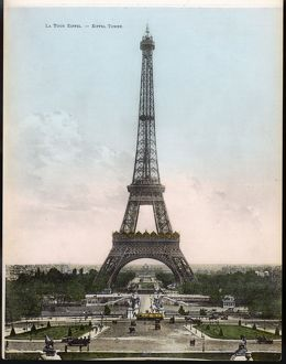 PARIS/EIFFEL TOWER C1905