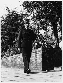 POLICE OFFICER WALKING