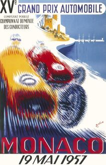 Poster for the 15th Monaco Grand Prix