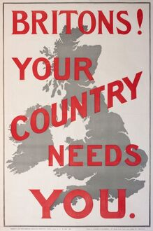 Poster, Britons! Your Country Needs You