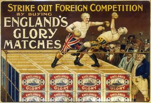 Poster for England's Glory Matches