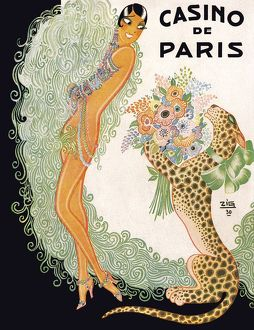 Programme cover for Paris Qui Revue