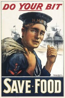 SAVE FOOD/WWI POSTER