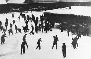 Snowball fight 1916