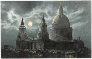 ST PAULS BY NIGHT