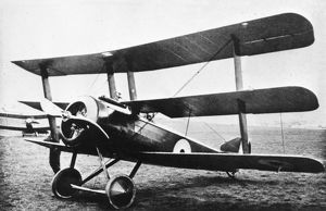 Standard production Sopwith triplane, WW1