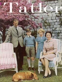 Tatler cover: Queen Elizabeth II and her family