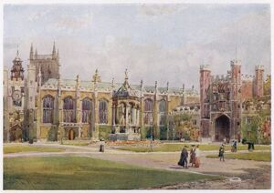 TRINITY/CAMBRIDGE/1907