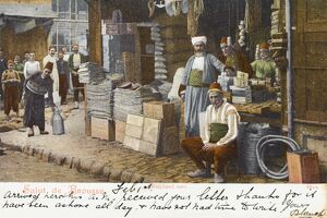 Turkish Market Scene - Bursa, Turkey