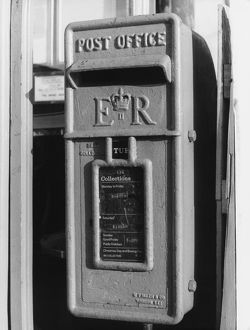 VILLAGE POST BOX 1960S
