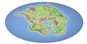 Continental drift after 250 million years
