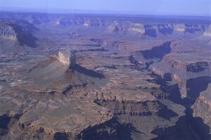 Aerial view of the South Rim