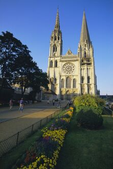 Chartres Cathedral, UNESCO World Heritage Site, Chartres, Centre, France, Europe