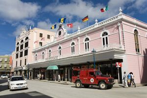 Colonnade Building, Bridgetown, Barbados, West Indies, Caribbean, Central America