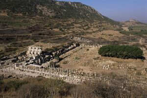 Curetes Way and Library of Celsus