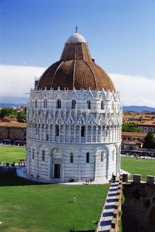 Exterior of the Baptistery
