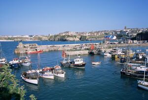 Harbour, Newquay, Cornwall, England, United Kingdom, Europe