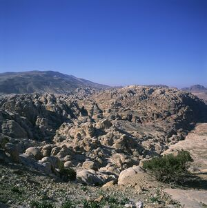 The Jabal al-Khubtha Massif
